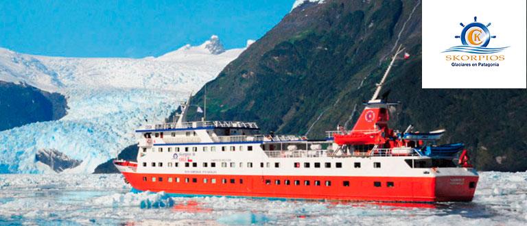 Skorpios Glaciares en Patagonia